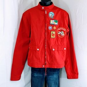 DSQUARED2 Dan Camping Patches Windbreaker Jacket